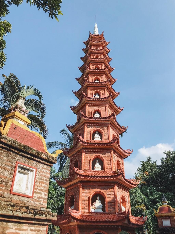 Tran Quoc Pagode Sehenswuerdigkeiten Hanoi
