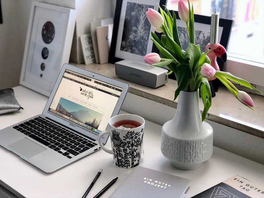 Home Office Tipps Schreibtisch