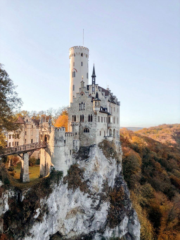 Schwaebische Alb Schloss Lichtenstein