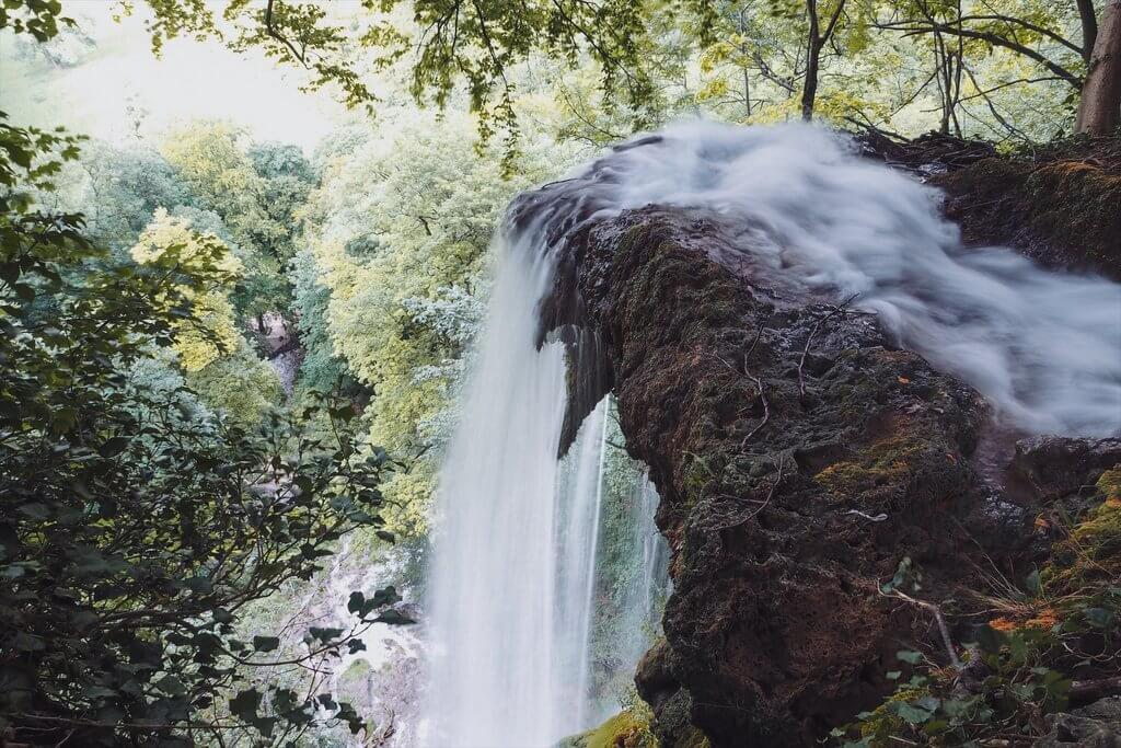 Wasserfall Bad Urach oben