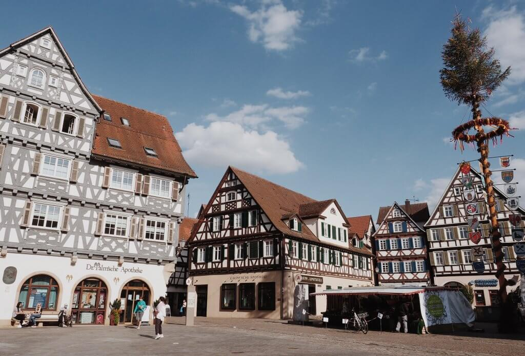 Schorndorf Altstadt Marktplatz