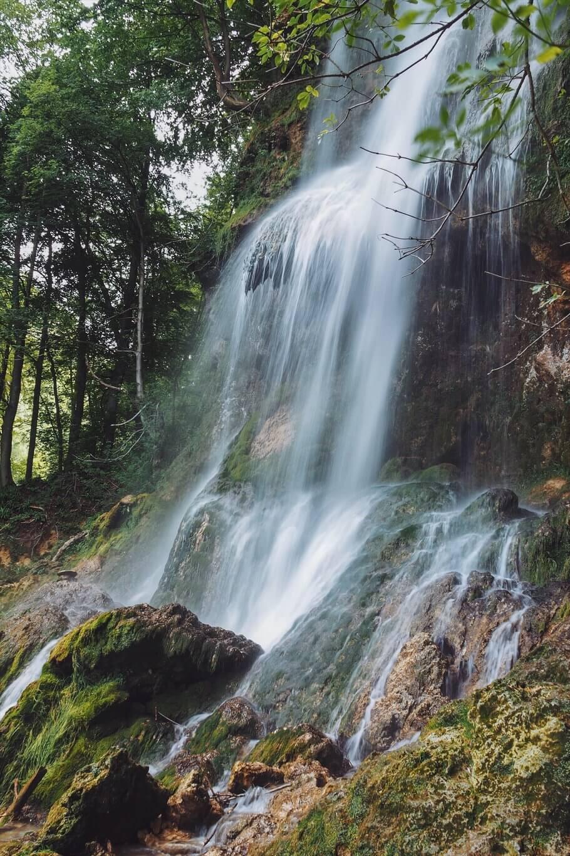 Uracher Wasserfall leichte Wanderung