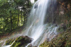 leichte Wanderung zum Uracher Wasserfall