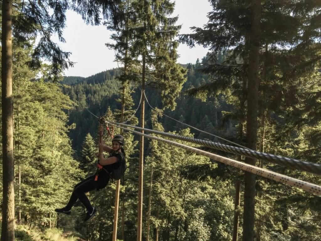 Hirschgrund Zipline Schwarzwald Tipps