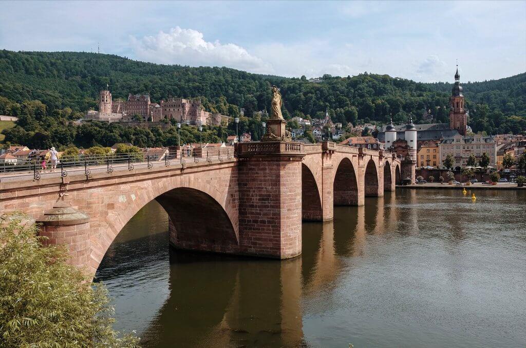 Heidelberg Alte Brücke Sehenswürdigkeiten