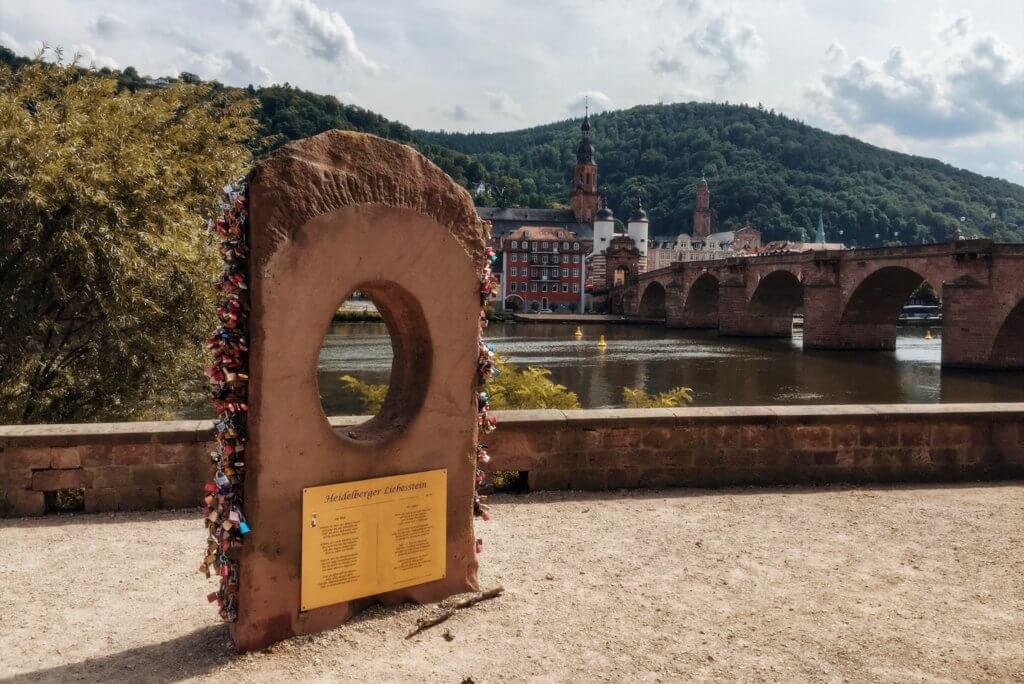 Heidelberg Liebesschlösser Alte Brücke