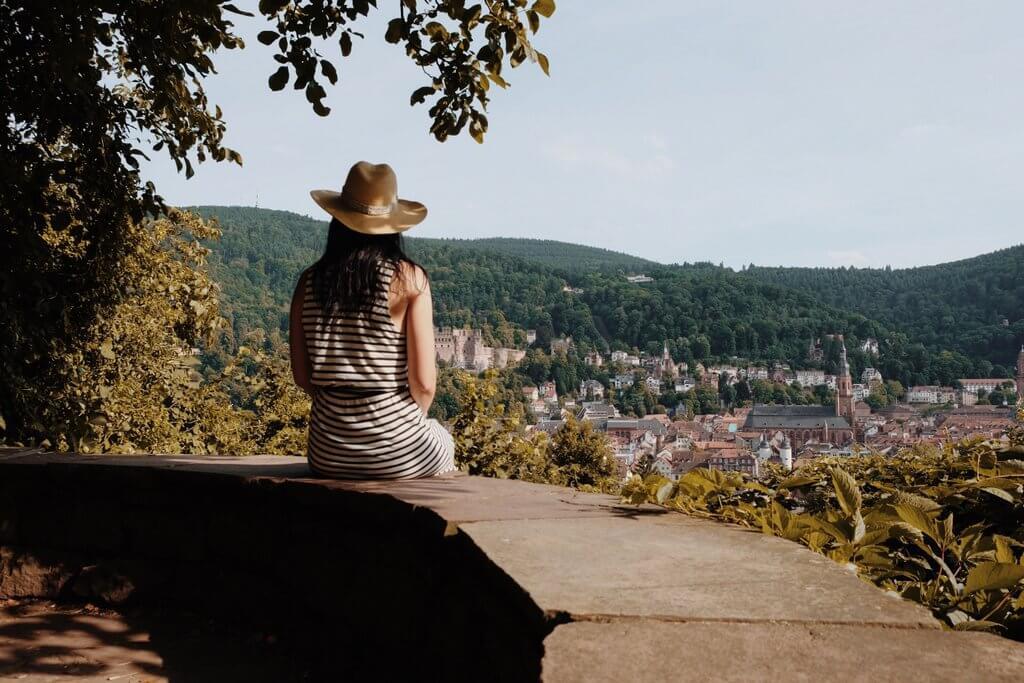 Heidelberg Schlangenweg Aussichtspunkt