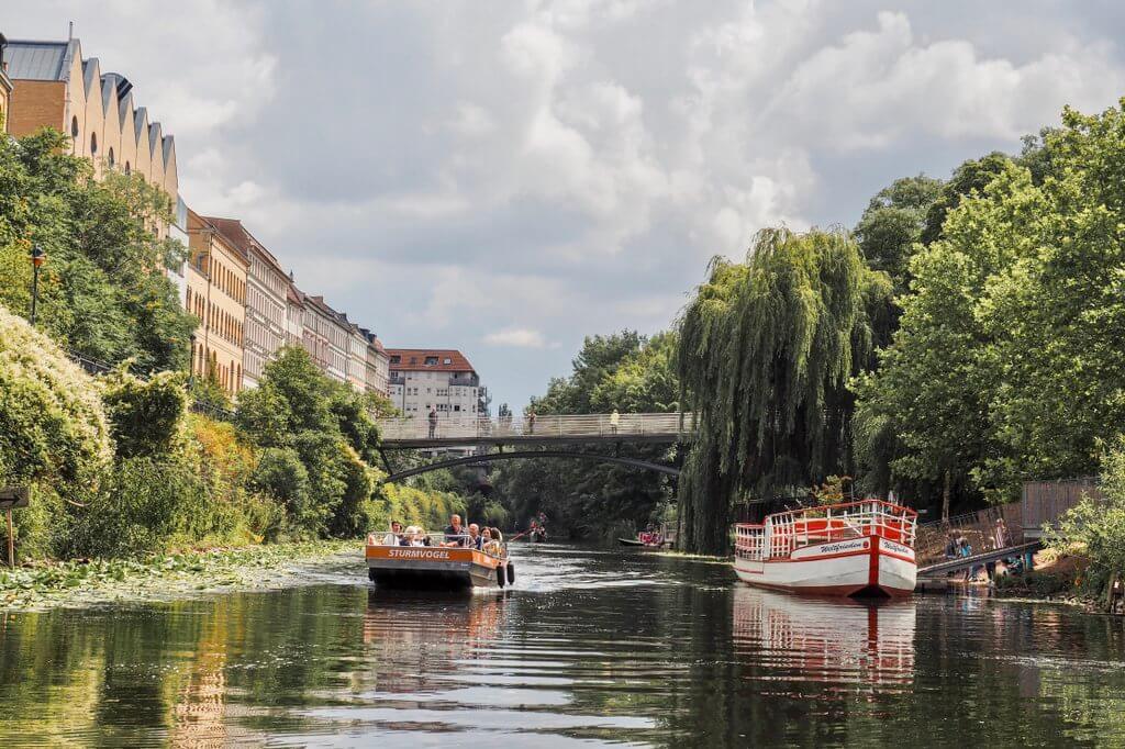 Bootstouren Leipzig Plagwitz Kanal