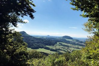 Dreikaiserberge-Blick Kaltes Feld Schwäbisch Gmünd