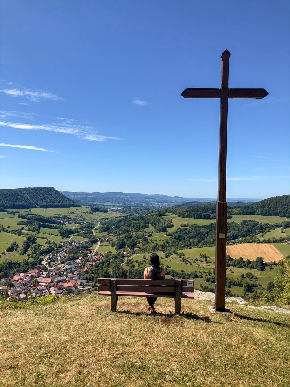 Galgenberg Gipfelkreuz Kaltes Feld