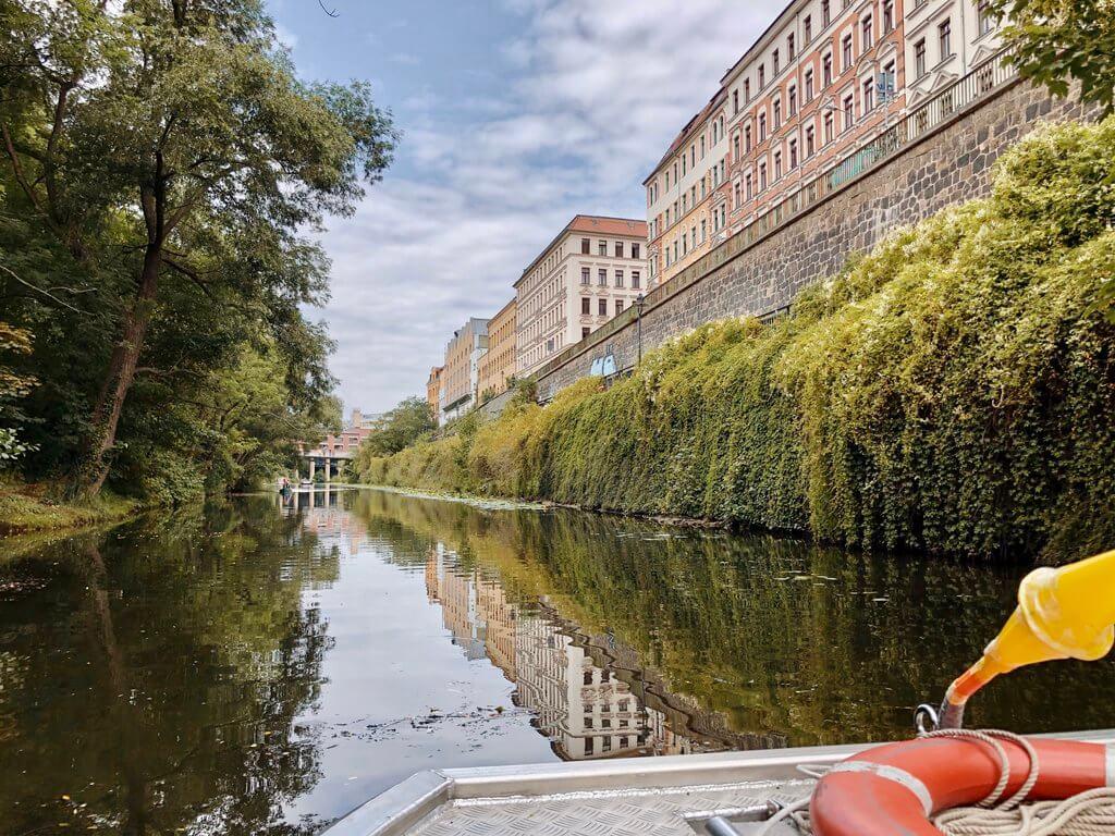 Kanalfahrt Leipzig Karl Heine Kanal