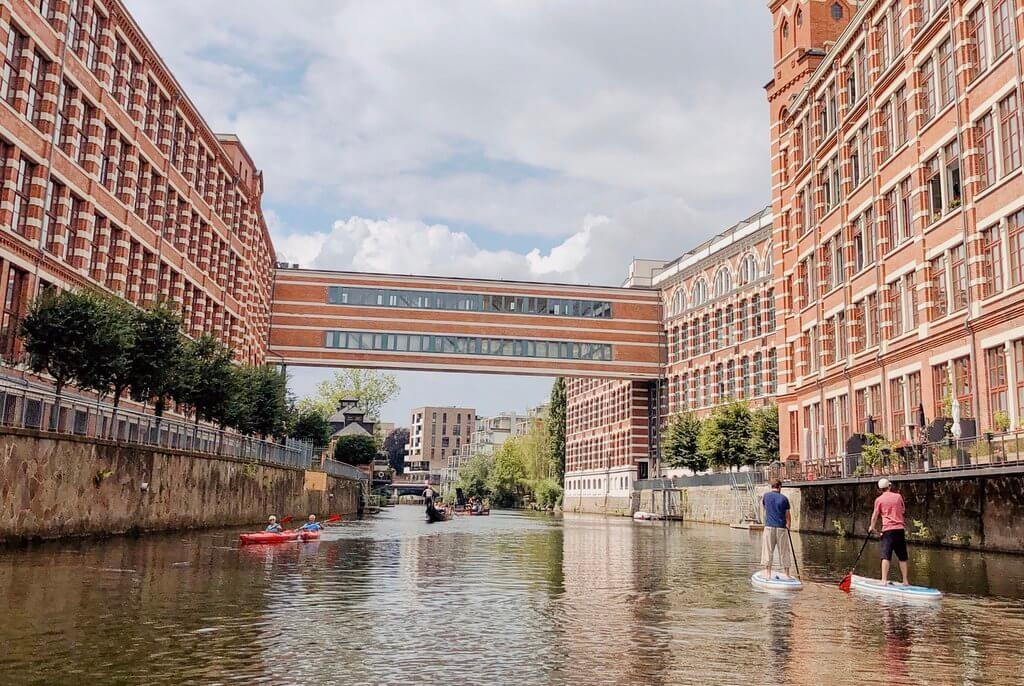 Leipzig Kanal Industriekultur