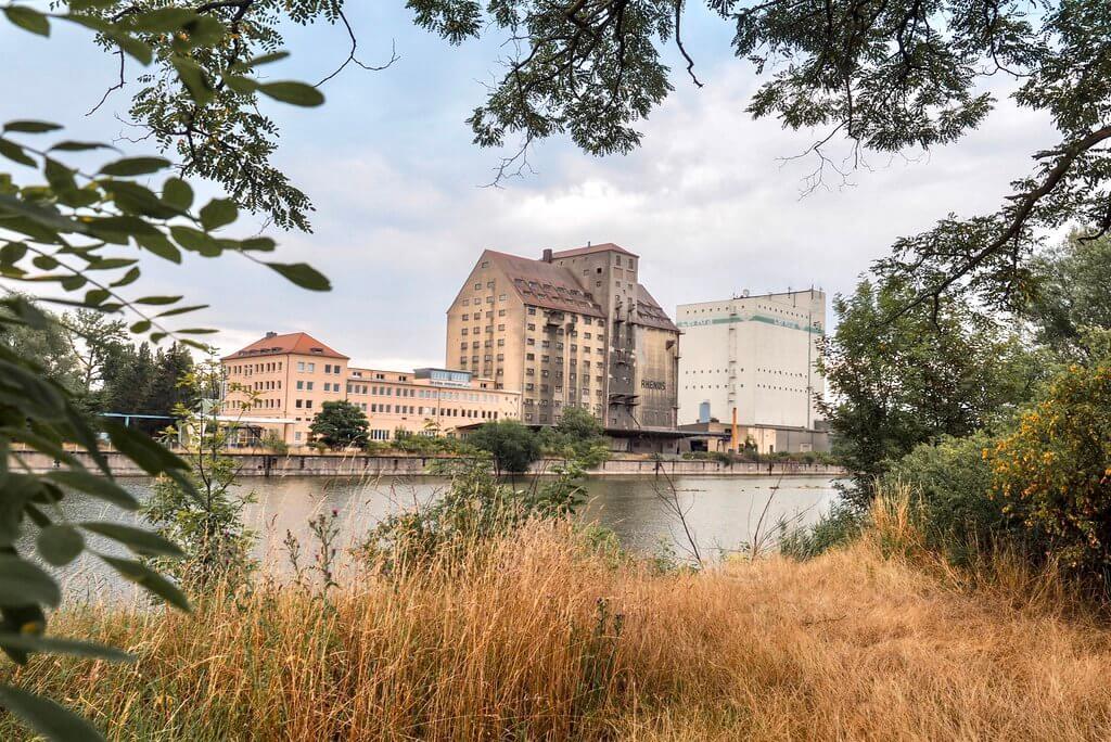 Lindenauer Hafen Leipzig