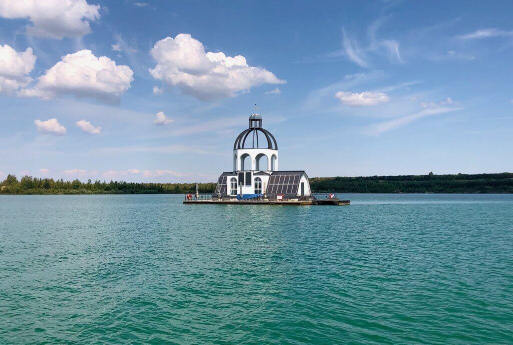 VINETA auf dem Störmthaler See Leipzig