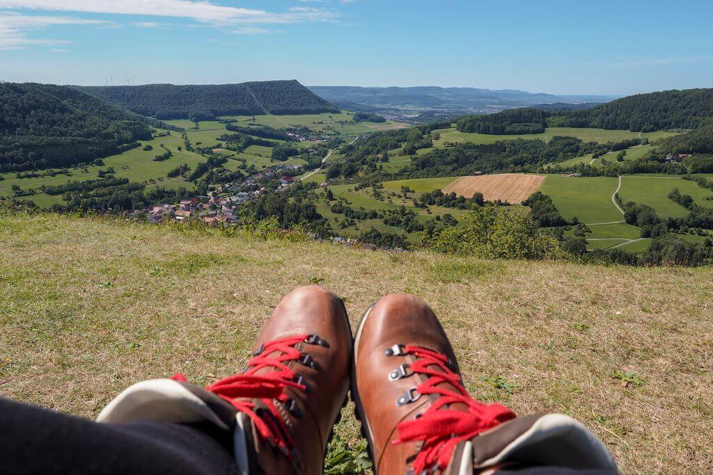 Wandern auf der Ostalb bei Schwäbisch Gmünd