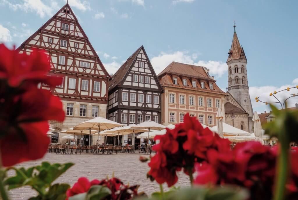 Altstadt Schwäbisch Gmünd Marktplatz