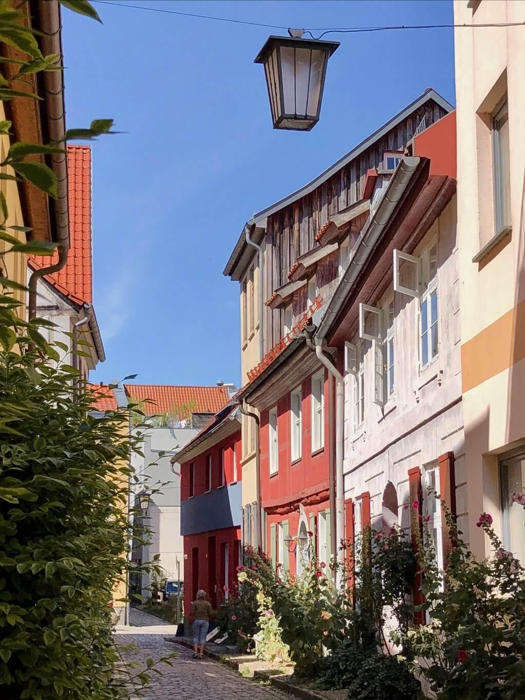 Gassen Stralsund Altstadt