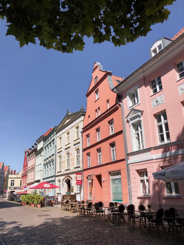 Stralsund Altstadt Restaurant Zlata Praha