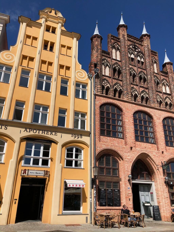 Stralsund Altstadt Unesco Weltkulturerbe