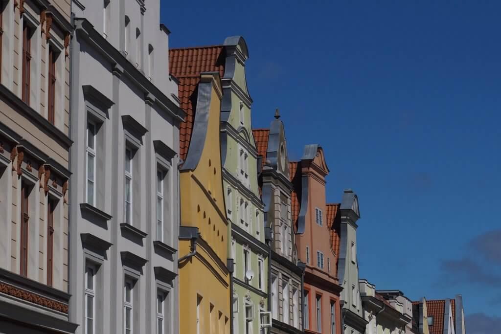 Stralsund Kaufmannshäuser Fassaden