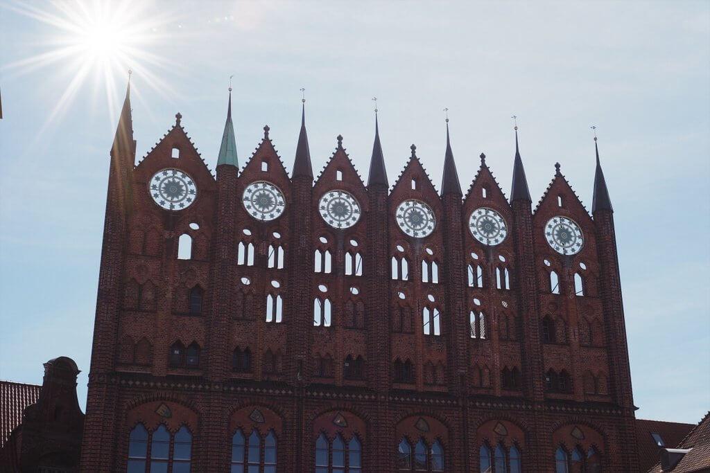 Stralsund Rathaus Fassade