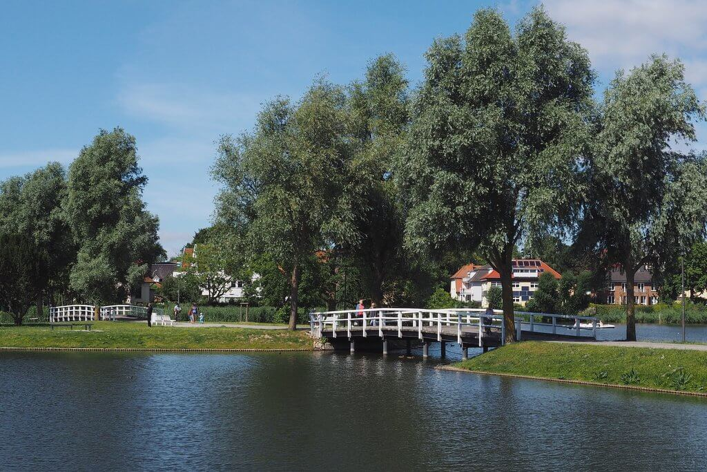 Stralsund weiße Brücken