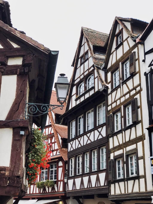 Fachwerkhäuser in Straßburg