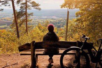 Fahrradtour ebike Naturpark Schoenbuch bei Stuttgart