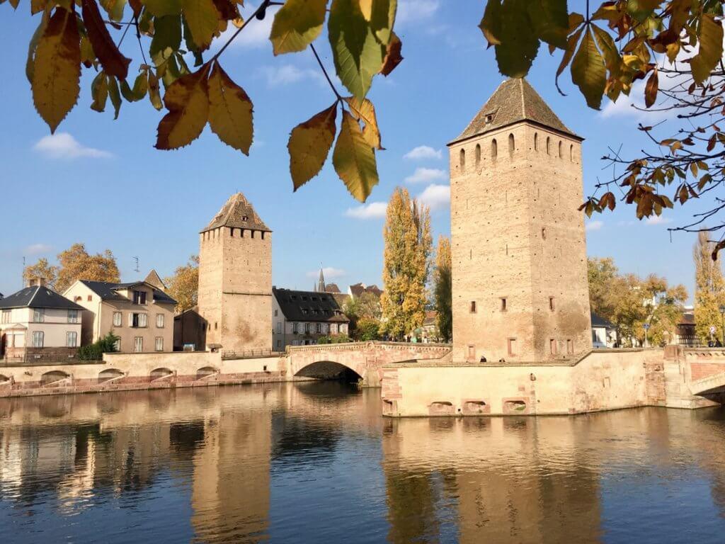 Gedeckte Brücken Straßburg Sehenswürdigkeiten