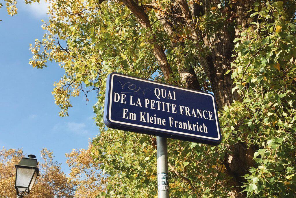 Quai La Petite France