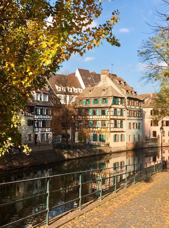Straßburg im Herbst