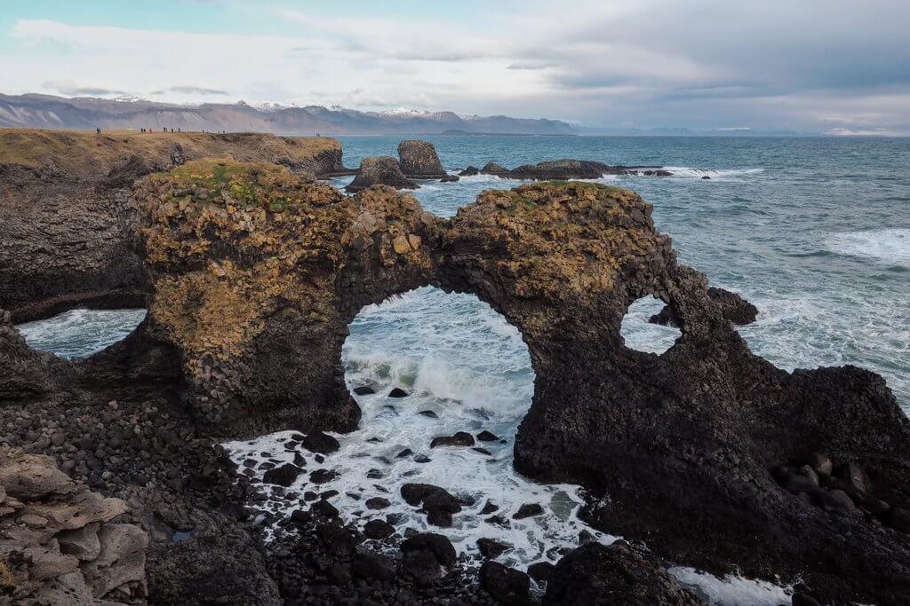 Gatklettur Island Snaefellsnes