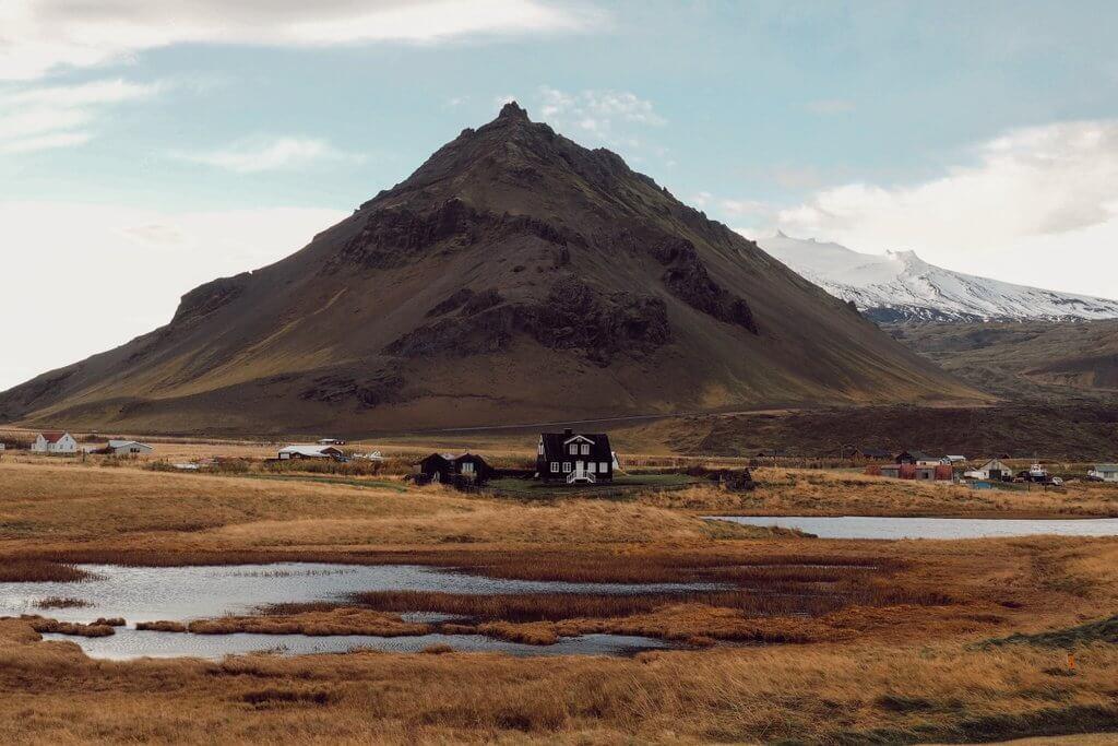 Snaefellsness Arnarstapi Island