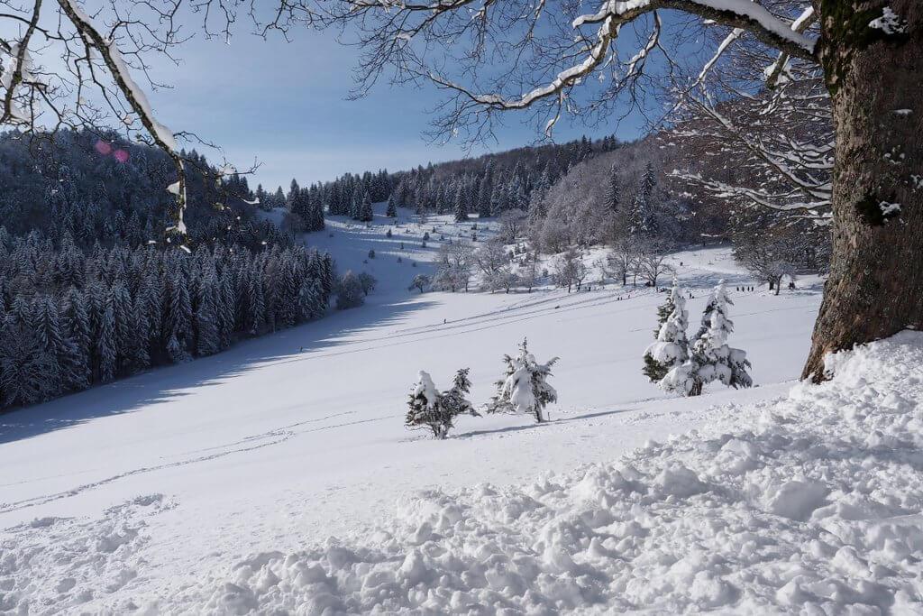 Ausflugstipp Winter Schwäbische Alb