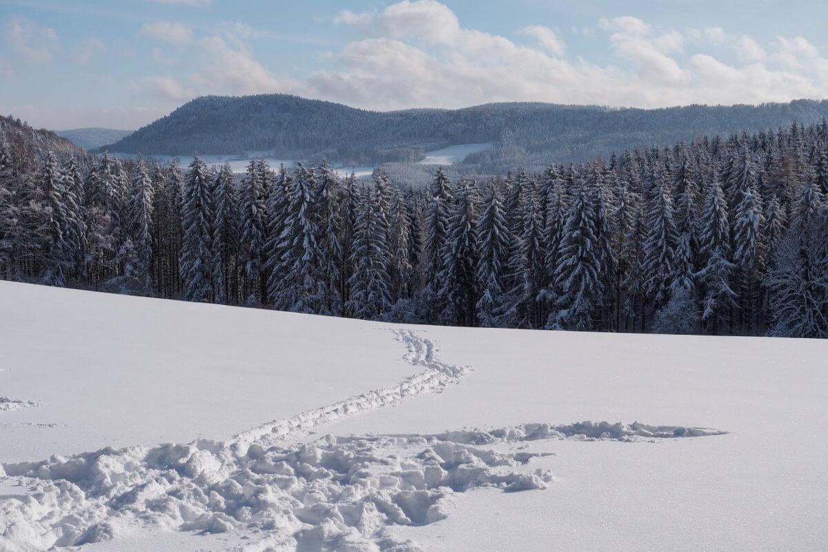 Winter Schwäbische Alb Balingen