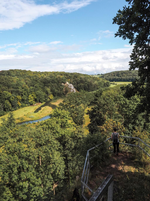 Aussichtspunkt Domaene Falkenstein Eselsburger Tal